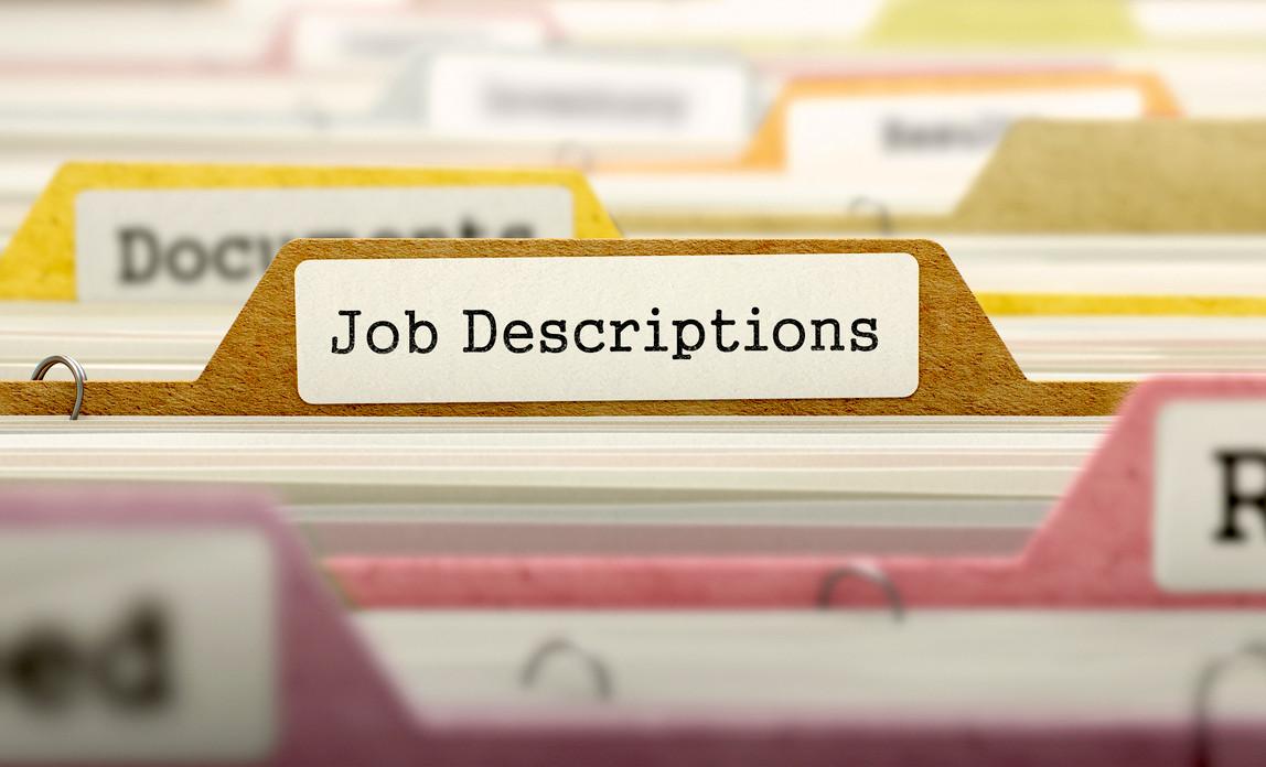 Job Description – الوصف الوظيفى